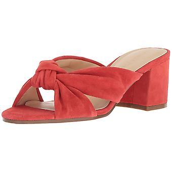 Ivanka Trump Womens Earin Slide Sandal Leather Open Toe Casual Platform Sandals