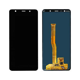 Stuff Certified® Samsung Galaxy A7 2018 A750 Screen (Touchscreen + AMOLED + Parts) A + Quality - Black