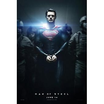 Man Of Steel Poster Double Sided Advance Style B (2013) Original Cinema Poster