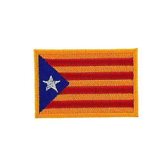 Patch Ecusson Brode Drapeau Catalan Independant Catalogne