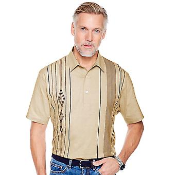 Pegasus Mens 2 Pack Of Tailored Collar Polo Shirts