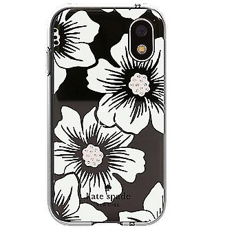 kate spade Flexible Hardshell Case for Palm Companion - Hollyhock Floral/Clear Cream with Stones