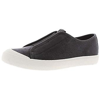FRYE Womens Claudia Solid Leather Slip-On Sneakers