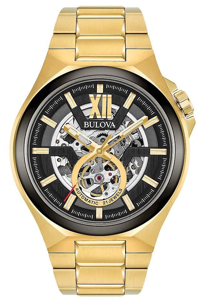 Bulova 98a178 Classic Automatic men's Watch 46 Mm
