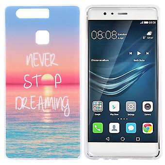 Hull For Huawei P9 Sea Pattern And Sunset