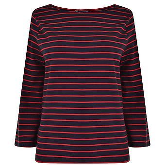 French Connection Eva Crepe 3//4 Sleeve Shirt Womens Dress Utility Blue Multi UK10 EU38 US6