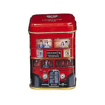London bus english breakfast tea mini tin 25g