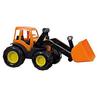 Mochtoys tractor, Bulldozer 10176 met schop en rubberen banden