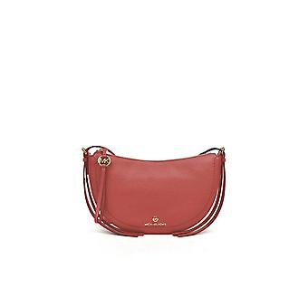 MICHAEL KORS SALMON PINK CAMDEN CROSSBODY BAG