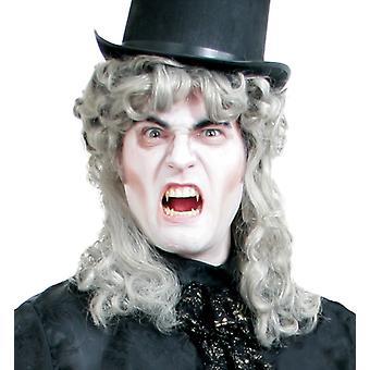 Leopold WIG stříbrná blondýna Halloween