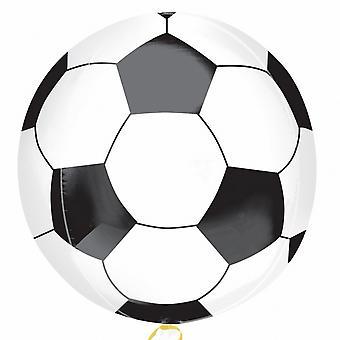 Amscan футбольный мяч Supershape Orbz шар