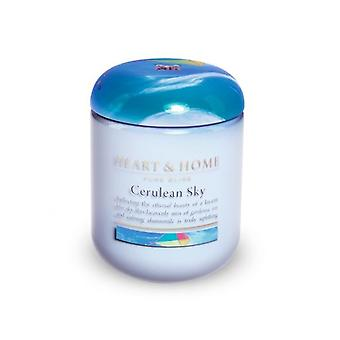 Heart & Home Small Candle Jar Cerulean Sky