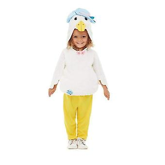 Peter Rabbit Deluxe Jemima Puddle-Duck Costume Toddler Yellow