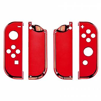 Housing shell for nintendo switch joy-con controller hard casing replacement - chrome red | zedlabz