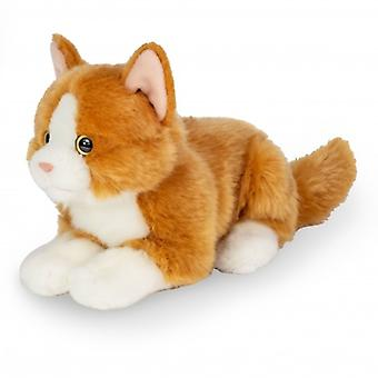 Hermann Teddy Cuddle Cat Punainen Valehtelee 20 cm