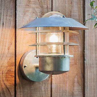 Garden Trading St Ives Strand Exterior Wall Light - Galvanised