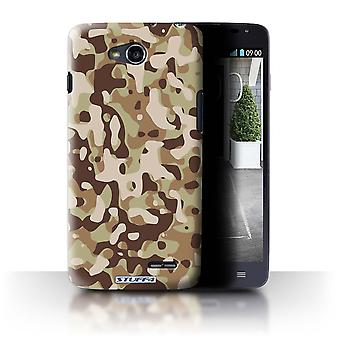 STUFF4 Case/Cover for LG L90/D405/Brown 3/Camouflage Army Navy