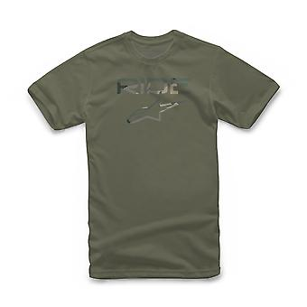 Alpinestars Men's T-Shirt ~ Ride 2.0 military