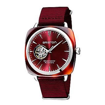 Briston 19740.SA.TI.8.NBDX Clubmaster Iconic Red Automatic Wristwatch