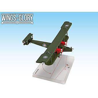 Wings of Glory British Handley Page O/400 Model For Wings of Glory