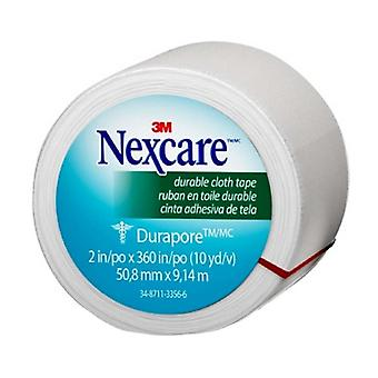 Nexcare durapore cloth first aid tape, 1 inch x 10 yards, 12 ea