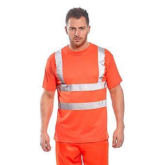Portwest hi-vis t-shirt ris rt23