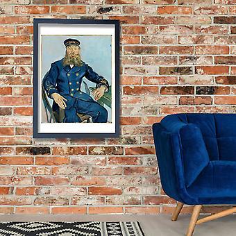 Vincent Van Gogh - Portrait of Joseph Roulin, 1888 Poster Print Giclee