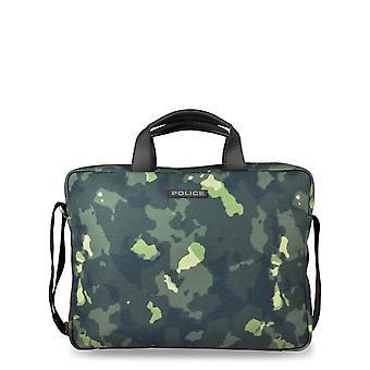 Police Original Men All Year Briefcase - Green Color 32773