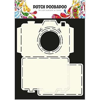الهولندية Doobadoo الهولندية بطاقة الفن الاستنسل كاميرا A4 2x 11x14,5cm 470.713.520