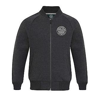 Celtic FC Official Football Gift Boys Retro Varsity Baseball Jacket