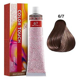 Wella Professionals color touch djupa bruna 6/7 60 ml