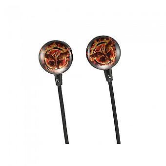 Hunger Games Fire Mockingjay oortelefoons