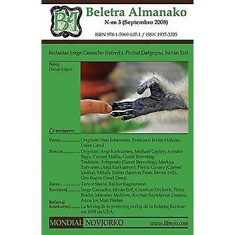 Beletra Almanako 3 BA3  Literaturo en Esperanto by Camacho & Jorge