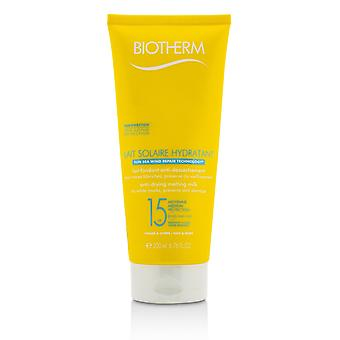 Lait solaire hydratant anti drying melting milk spf 15 for face & body 212288 200ml/6.76ml