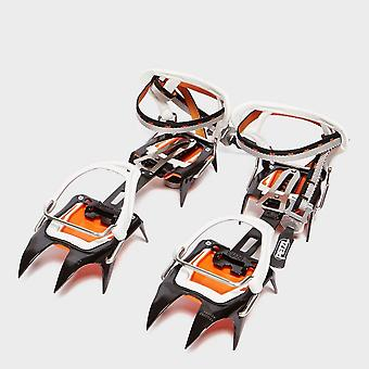 New Petzl Irvis Flexlck Crampon Black/Orange