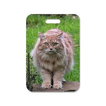 Siberian Cat Large Bag Pendant