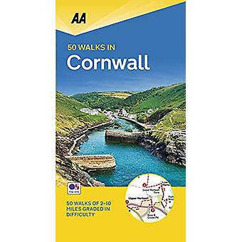50 Walks in Cornwall - 9780749581169 Book