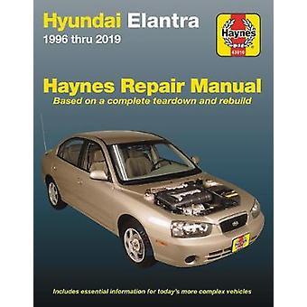 Hyundai Elantra Haynes Repair Manual - 1996 Thru 2019 - Based on a Com
