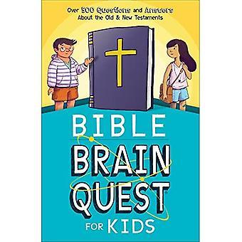 Bibeln Brain Quest för barn: över 500 frågor och svar om de gamla & nya testamentet