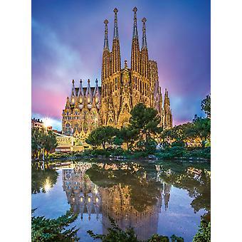 Clementoni Sagrada Familia Barcelona pussel (500 bitar)