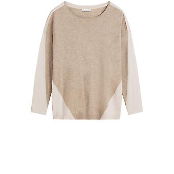 Sandwich Clothing Faded Sand Fine Knit Jumper