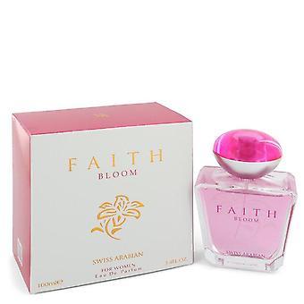 Swiss Arabian Faith Bloom Eau De Parfum Spray By Swiss Arabian 3.4 oz Eau De Parfum Spray