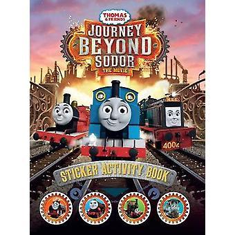 Thomas and Friends - Viaje más allá de Sodor Sticker Activity Book de Egm