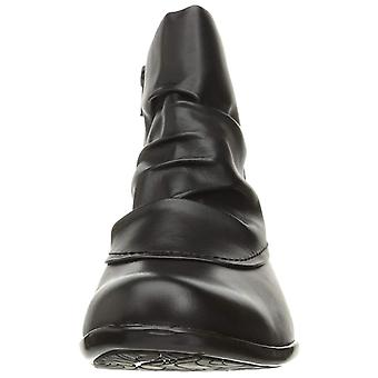Cobb Hill Women's Shoes CDR10BKL Leather Closed Toe Ankle Fashion Boots