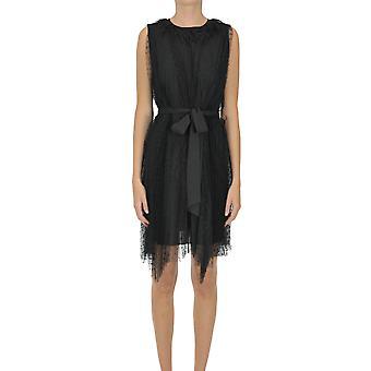 Étui en or Ezgl527003 Femme-apos;s Robe en polyester noir
