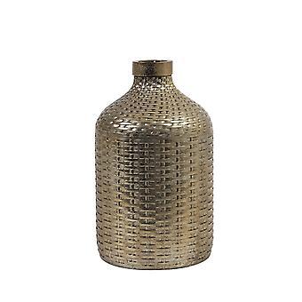 Light & Living Vase Deco 21x35cm Wick Ceramics Bronze