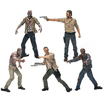 The Walking Dead 5 Figuur Building Set Pack