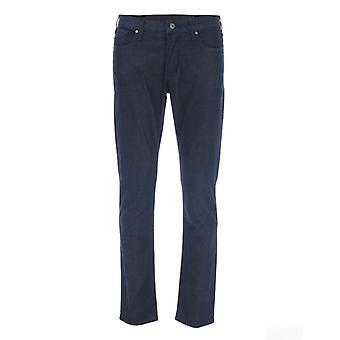Mænd's Armani J06 Slim Fit Dress Jeans i blå