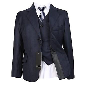 Boys Formal Dark Navy Suit