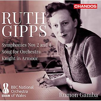 Gipps - Symphonies 2 & 4 [CD] USA import